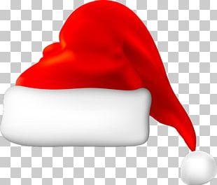 Santa Claus Santa Suit Hat Cap PNG