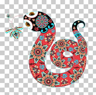 Snake Chinese New Year Cartoon Illustration PNG