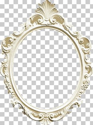 Frames Body Jewellery Oval PNG