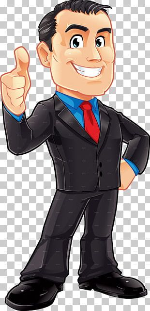 Cartoon Businessperson Male PNG