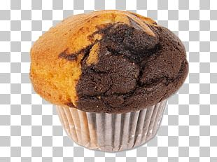 Muffin Vanilla And Chocolate PNG