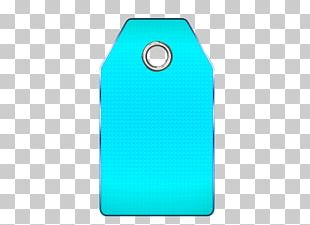 Price Tag Blue PNG