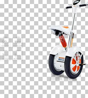 Wheel Scooter Electric Vehicle Car Self-balancing Unicycle PNG