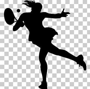 Tennis Girl Sport Athlete Racket PNG
