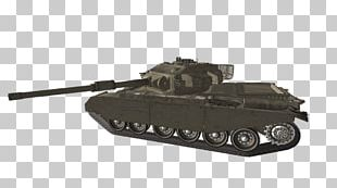 Churchill Tank Self-propelled Artillery Motor Vehicle Gun Turret PNG