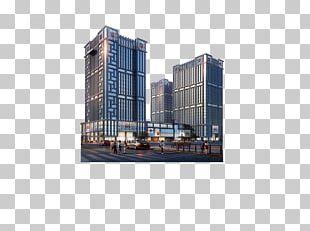 Building Condominium Poster PNG