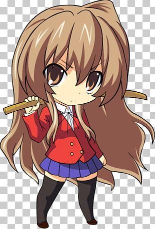 Taiga Aisaka Chibi Asuna Anime Toradora! PNG