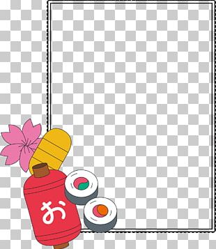 Japanese Cuisine Graphic Design PNG