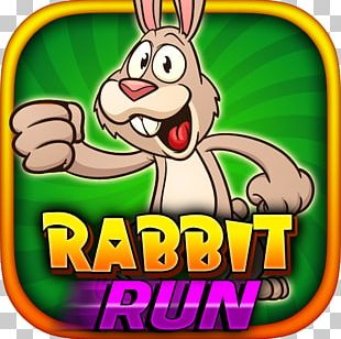 Bunny And Gray Cartoon Game PNG
