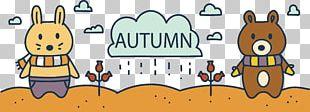 Rain Autumn Illustration PNG