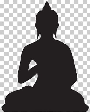 Standing Buddha Buddhism Silhouette Buddharupa PNG