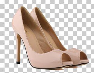 Christmas Santa Claus High-heeled Shoe Stiletto Heel PNG