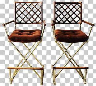 Table Director's Chair Bar Stool PNG