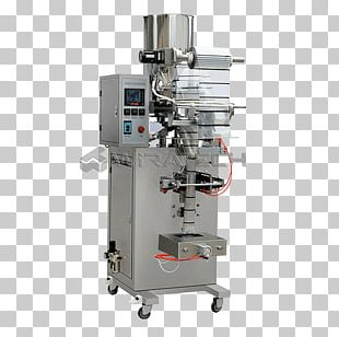 Packaging Machine Packaging And Labeling Powder Product PNG