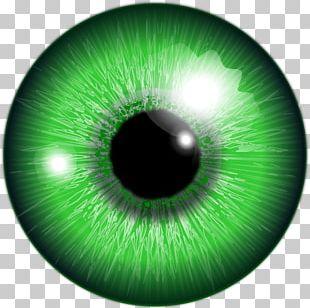 Eye Color Lens Flare PNG