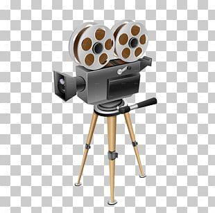 Photographic Film Cinema Movie Camera PNG
