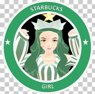 Starbucks Coffee Logo Woman PNG