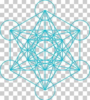 Metatron Overlapping Circles Grid Sacred Geometry Cube Zazzle PNG