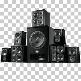 Surround Sound Loudspeaker Home Theater Systems Audio PNG