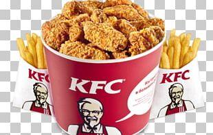 KFC Chicken French Fries Fast Food Hamburger PNG