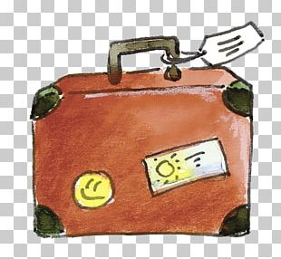 Travel Suitcase Hand Luggage Baggage PNG