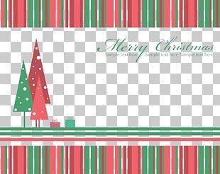 Christmas Frame Illustration PNG