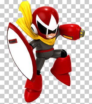Proto Man Mega Man 3 Digital Art PNG