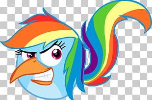 Rainbow Dash Angry Birds 2 Beak Angry Birds Transformers Twilight Sparkle PNG