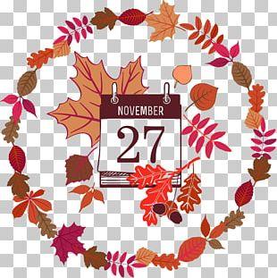 Thanksgiving Euclidean Pattern PNG