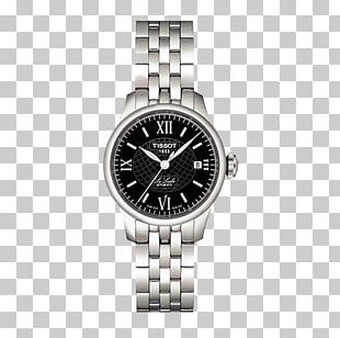 Le Locle Tissot Automatic Watch Strap PNG