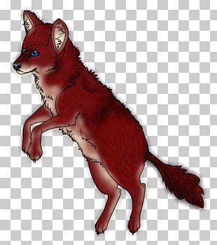 Red Fox Fur Character Fiction Snout PNG