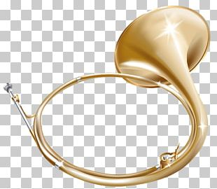 French Horn Musical Instrument Trumpet PNG