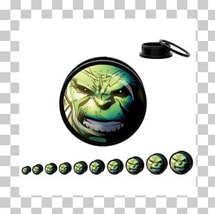 Plug Spider-Man Hulk Earring Marvel Comics PNG