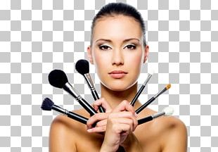 Cosmetics Eye Shadow Make-up Artist Female Makeup Brush PNG