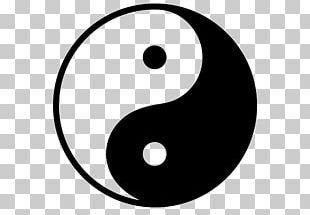 Symbol Yin And Yang Korea PNG