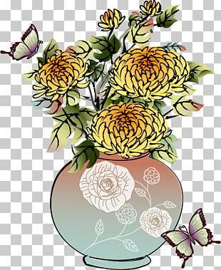 Double Ninth Festival Watercolour Flowers Mid-Autumn Festival Watercolor Painting PNG