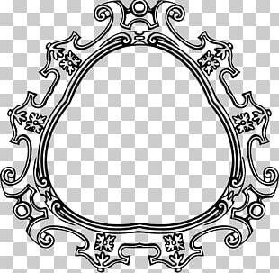 Frames Black And White Drawing PNG