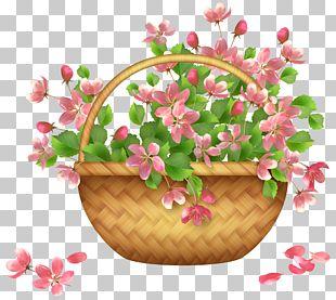 Basket Flower PNG