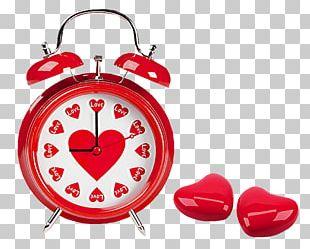 Heart Alarm Clock PNG