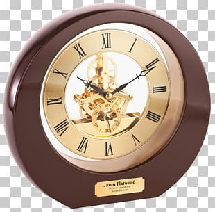 Table Mantel Clock Desk Personalization PNG