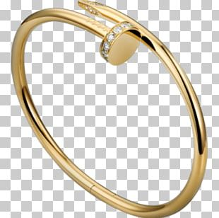 Love Bracelet Jewellery Colored Gold Cartier PNG