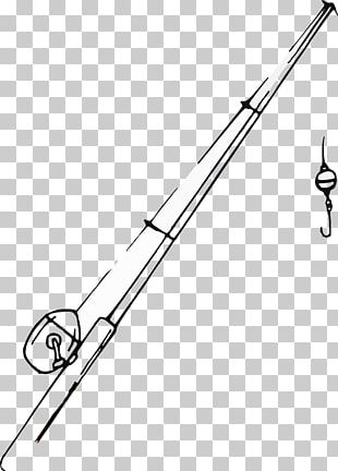 Fishing Rods Drawing Fishing Line PNG