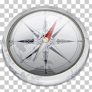 Wheel Spoke Rim Compass PNG