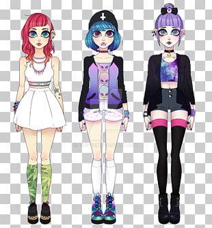 Mangaka Costume Girl Fiction Character PNG