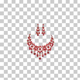 Jewellery Earring Ruby PNG