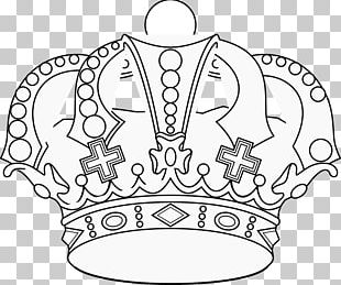 Crown Coloring Book King Drawing PNG