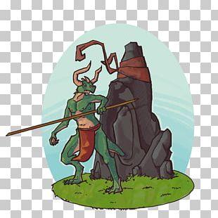 Knight Cartoon Spear Legendary Creature PNG