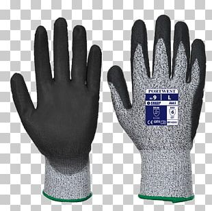 Cut-resistant Gloves Portwest Personal Protective Equipment Polyurethane PNG