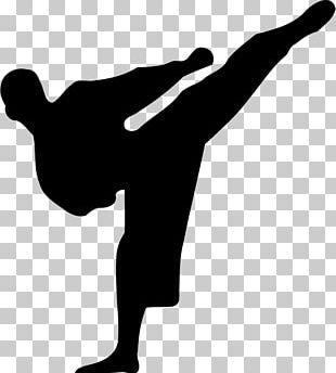 Karate Martial Arts Kick PNG