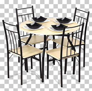 Table Chair Furniture Dining Room Matbord PNG